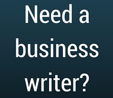 hire a business writer